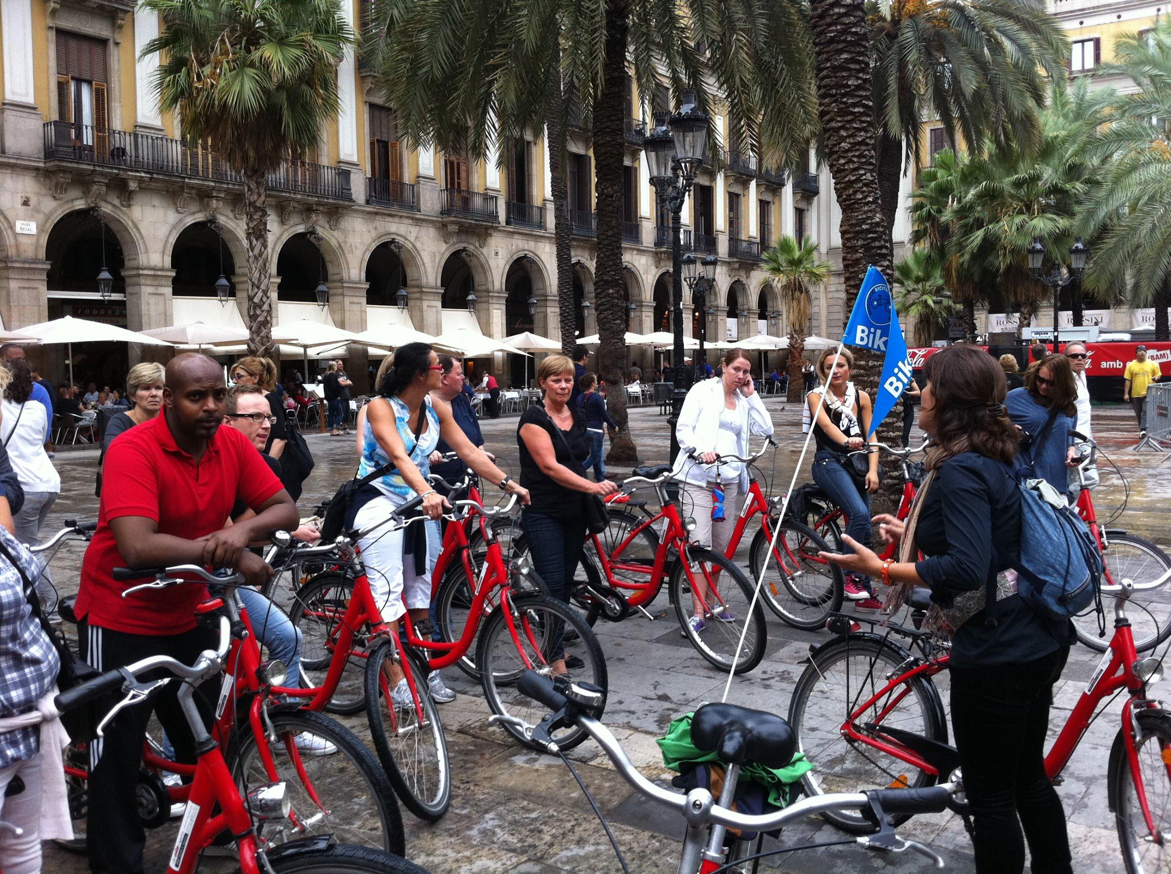 Barcelona sykkel