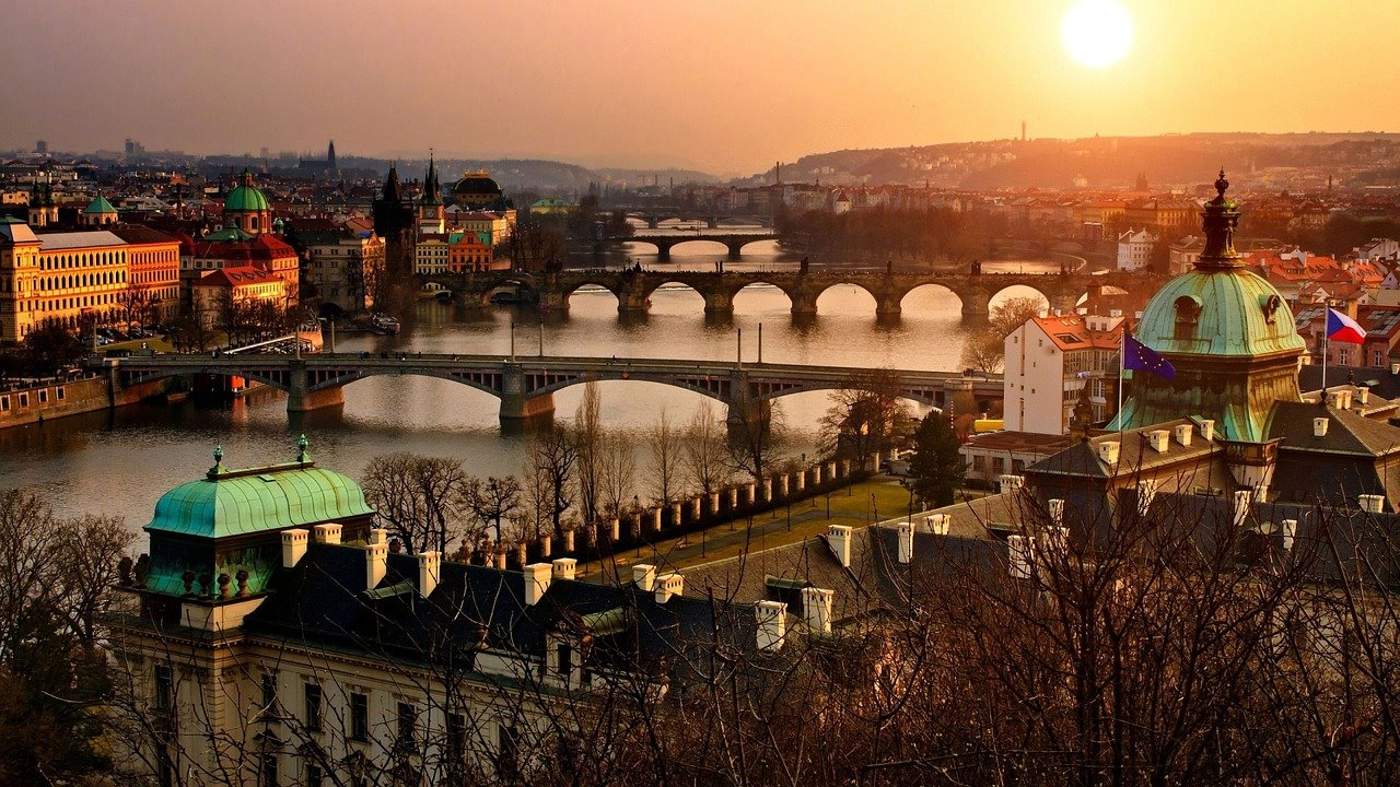 Praha kveld