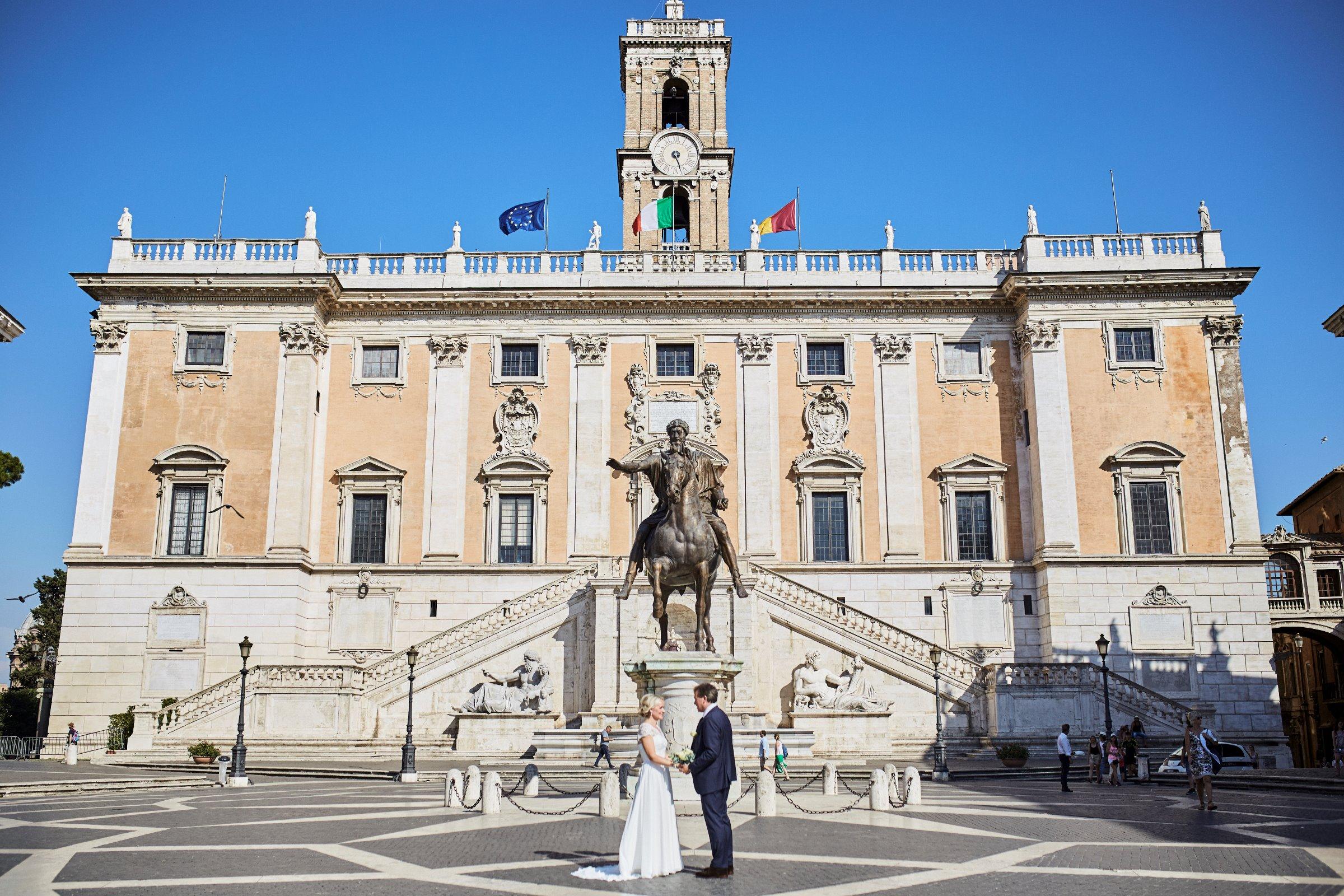 Roma bryllup