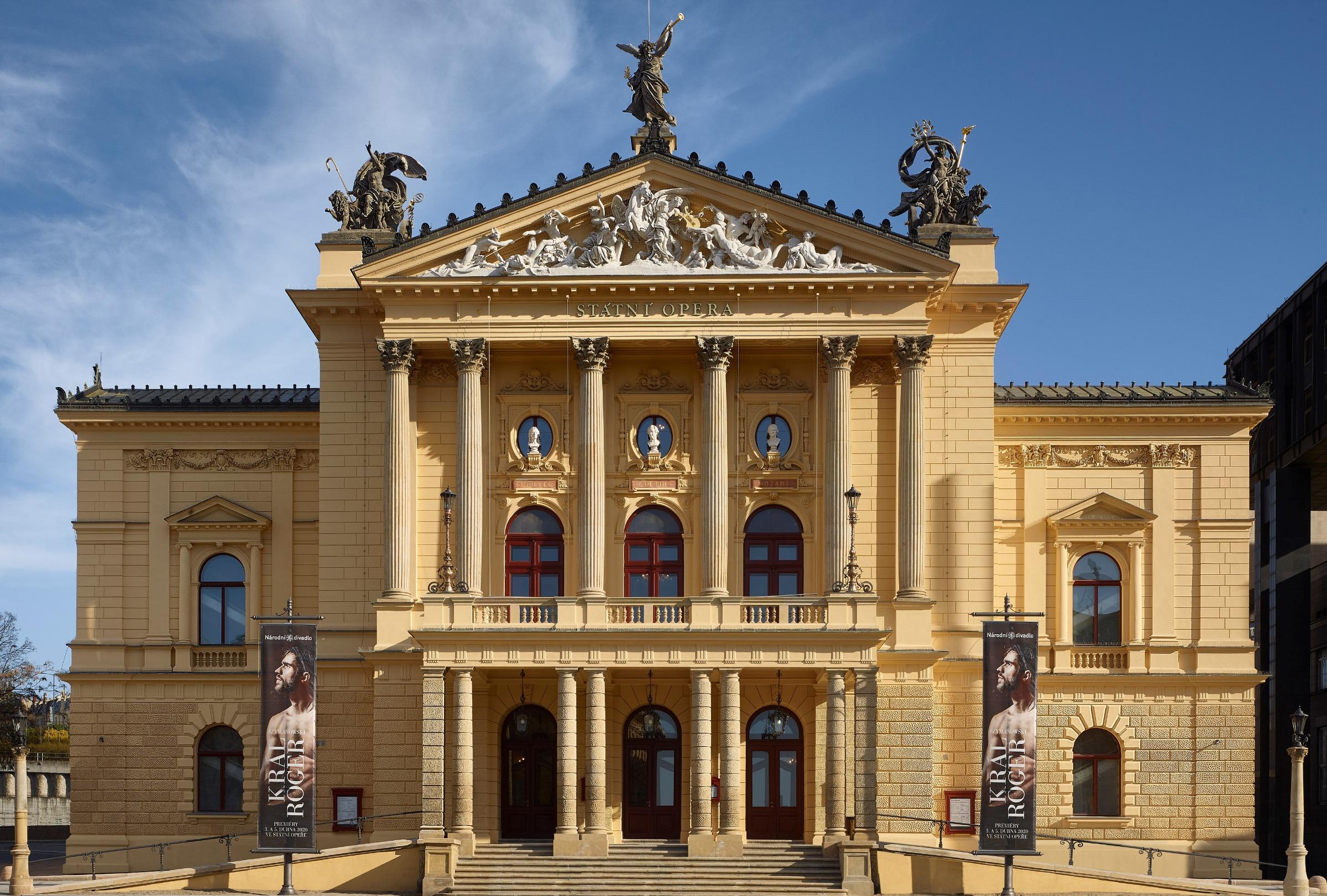 Praha Statsoperaen