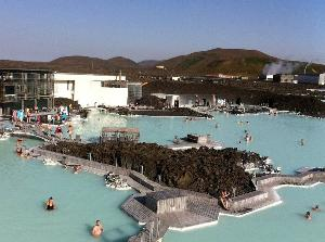 Island - blå lagune