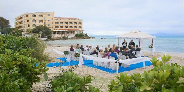 Bryllup Sardinia